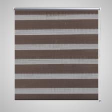 vidaXL Zebra roló 50 x 100 cm Kávészínű lakástextília