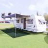 vidaXL zöld HDPE sátorszőnyeg 300 x 600 cm