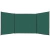 vidaXL zöld HDPE szélfogó kerítés 150 x 600 cm
