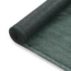vidaXL zöld HDPE teniszháló 1,2 x 100 m