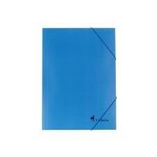 Viktória Gumis mappa, karton, A4, VICTORIA, kék mappa