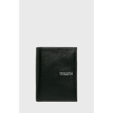 VIP COLLECTION - Bőr pénztárca Palermo - fekete - 1438575-fekete