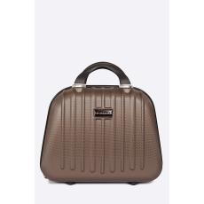 VIP COLLECTION - Bőrönd 12 L - barnás- zöld