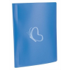 """VIQUEL Bemutatómappa, 20 zsebes, A4, VIQUEL """"Standard"""", kék"""