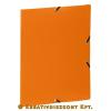 """VIQUEL Gumis mappa, 15 mm, PP, A4, VIQUEL """"Standard"""", narancssárga"""