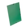 """VIQUEL Gumis mappa, 15 mm, PP, A4, VIQUEL """"Standard"""", zöld"""