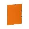 VIQUEL Gumis mappa, 15 mm, PP, A4, VIQUEL Standard, narancssárga