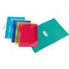 """VIQUEL Gyorsfűző, klipes, PP, A4,  """"Propyglass V-Clip"""", vegyes színek"""