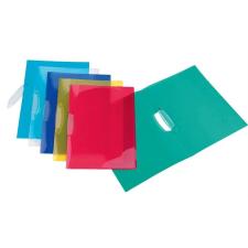 """VIQUEL Gyorsfűző, klipes, PP, A4,  """"Propyglass V-Clip"""", vegyes színek mappa"""
