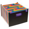 """VIQUEL Harmonika mappa, PP, 25 részes, VIQUEL """"RainbowClass"""", fekete"""