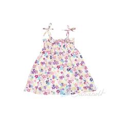 Virágos baba, gyerek kánikula ruha (méret:80-134)