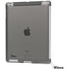 Vireo CV1310BLK Case and Foil for iPad 2/3/4 sötét áttetszo