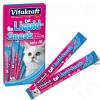 Vitakraft Cat Liquid-Snack lazaccal + Omega 3 - 6 x 15 g