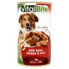VitalBite teljes értékű állateledel felnőtt kutyák számára csirkével, marhával és vaddal 1240 g