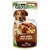 VitalBite teljes értékű állateledel felnőtt kutyák számára nyúllal, marhával és tésztával 1240 g