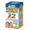 Vitalkid22 multifrutti 22 zöldség és gyümölcs kivonat multivitamin kapszula gyerek 30db+30db