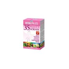 VITALPAJZS Vitalpajzs 35 felett nőknek növényi fitotápanyag rendszer és multivitamin tabletta 30db+30db táplálékkiegészítő