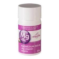 Vitamintár Magnézium+B6 tabletta 50 db gyógyhatású készítmény