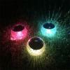 Vízálló napelemes LED hangulatfény medencébe