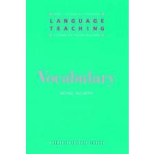 Vocabulary – Michael J. McCarthy idegen nyelvű könyv