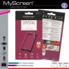 Vodafone Smart E8, Kijelzővédő fólia, MyScreen Protector, Clear Prémium