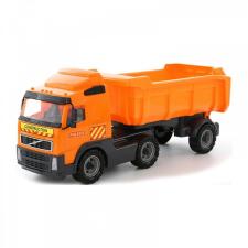 Volvo billencs kamion 59cm autópálya és játékautó