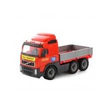 Volvo játék teherautó 45cm autópálya és játékautó