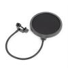 Vonyx M06 mikrofon pop filter, 6'' szűrő, flexibilis gégecső