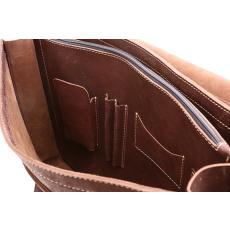 VOOC nagyméretű táska bőrből üzleti  TC8