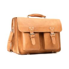 VOOC nagyméretű táska üzleti  bőrből TC12