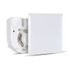 Vortice Vortice Evo QE 100 LL T radiális ventilátor egység előlappal, időkapcsolóval, előkésleltetéssel, IP45