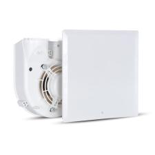 Vortice Vortice Evo QE 100 LL T radiális ventilátor egység előlappal, időkapcsolóval, előkésleltetéssel, IP45 építőanyag