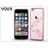 Vouni Apple iPhone 6 Plus/6S Plus hátlap kristály díszitéssel - Vouni Crystal Fragrant - rose gold
