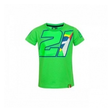 VR46 Franco Morbideli gyerek póló green numero 21 - 12-14 ĂŠv