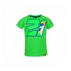 VR46 Franco Morbideli gyerek póló green numero 21 - 6/7
