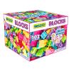 Wader Wader: 102 darabos műanyag építőszett - pink