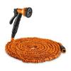 Waldbeck Flex 30 flexibilis kerti locsolócső, 8 funkció, 30 m, narancssárga