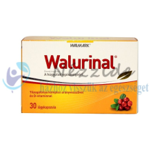 WALMARK WALURINAL KAPSZULA ARANYVESSZŐVEL 30DB táplálékkiegészítő