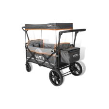 Wapiti Wagon extra strandkocsi szürke, narancs díszcsíkkal babakocsi