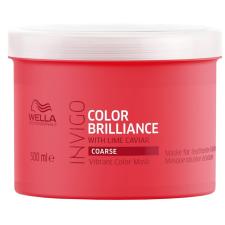 Wella Professionals Invigo Color Brilliance tápláló hajpakolás festett vastag szálú hajra, 500 ml hajfesték, színező