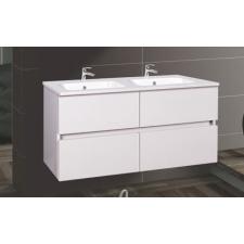 Wellis Elois White 120 Alsó fürdőszoba bútor mosdóval bútor