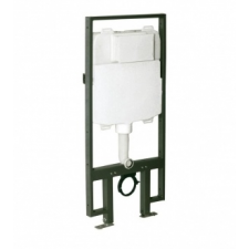 Wellis 'Wellis Clarice Angular falsík mögötti WC tartály szögletes nyomólappal' fürdőszoba kiegészítő