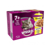 Whiskas 1+ Casserole szárnyas válogatás - multipack 4 x 12 x 85 g