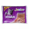 Whiskas Alutasakos 100g 4-pack Junior Bonus