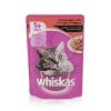 Whiskas alutasakos eledel marhahússal mártásban 24 x 100 g