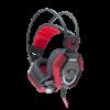 WHITE SHARK GH-1644 TIGER gaming headset, Fekete/Piros (TIGER)