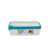 WHITEFURZE Ételtartó, szögletes, 1,3 liter, WHITEFURZE, türkizkék konyhai eszköz