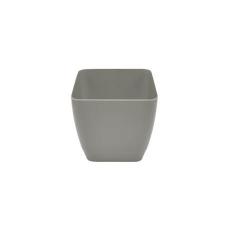 WHITEFURZE Kaspó, műanyag, szögletes, 16 cm, WHITEFURZE, szürke kerti dekoráció