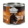 Wild Freedom 6x200g Wild Freedom Adult nedves macskatáp - Golden Valley - nyúl & csirke