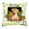 Wild Zone Baby díszpárna (kis leopárd)